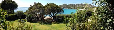 Photo for VILLA FEET IN THE WATER, DIRECT ACCESS TO THE BEACH, PANORAMIC VIEW, 10 PEOPLE.