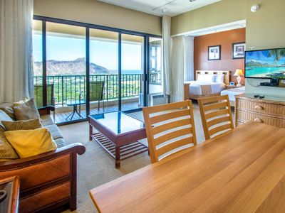 Photo for Ocean View Penthouse! Waikiki Banyan 37th Floor Deluxe Condo, Free parking & Wif