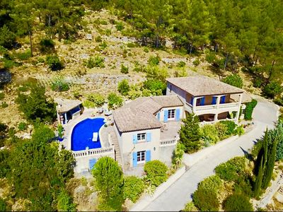 Photo for Large Provencal villa of charm with private pool
