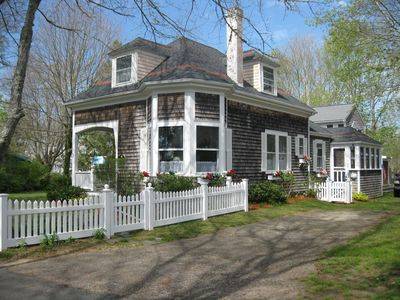 Photo for Cape Cod 'Treasure' in Pocasset Village , steps to Beach, 2 homes for your use.