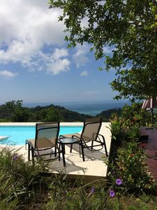 Photo for Luxury 3 bedroom Private Villa- Tropical organic gardens and views
