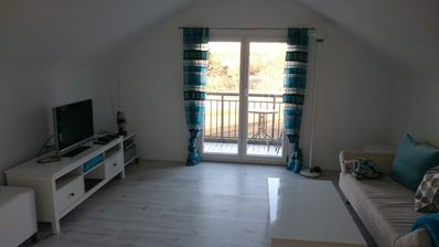 Photo for In the countryside, yet central: newly renovated, bright apartment right in Balingen