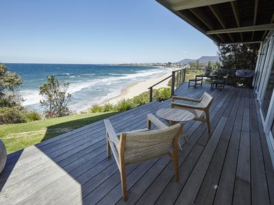Photo for Thirroul Beach House - ocean front family retreat