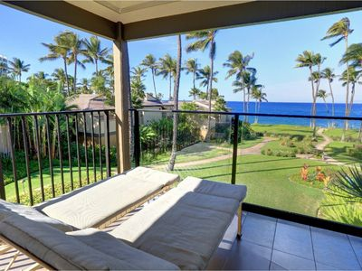 Photo for Spectacular Views Elua Village 1BR Oceanfront Unit Wailea Elua Village # 1402
