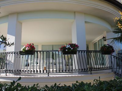 Photo for Holidays apartment Verdelago, large holiday apartment with private pool