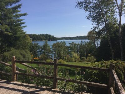 Photo for Lakefront Cottage with views