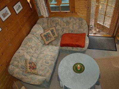 Photo for Apartment - Blockhaus in Baabe - for 2 adults and 1 child from 5-16 years.