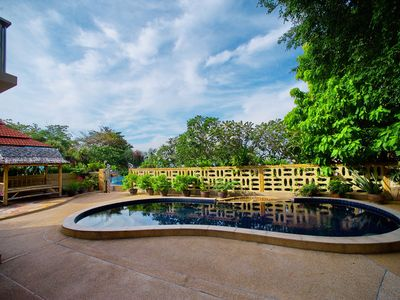 Photo for Samui villa with a private access to the white sandy beach