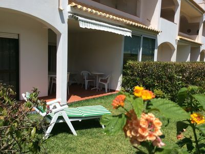 Photo for Falesia beach between Albufeira / Vilamoura. Pool