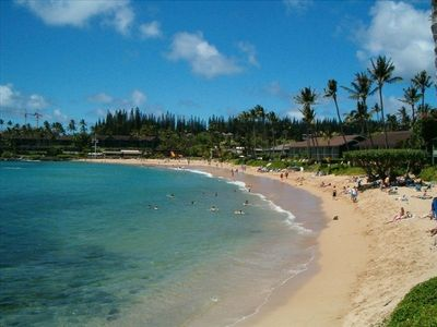 Enjoy the beautiful beach at Napili Bay!