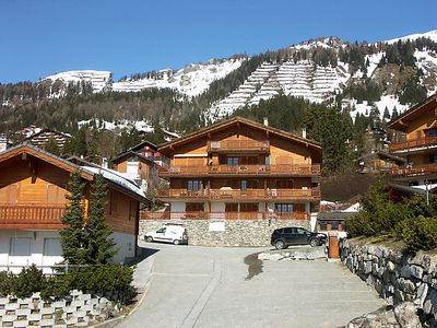 Photo for Apartment Les Rocailles  in Anzère, Valais - 4 persons, 2 bedrooms