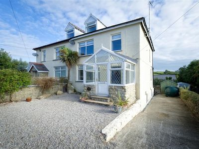 Photo for Bright and spacious with a nautical feel, this large semi-detached house is just a short walk from t