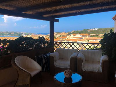 Photo for Luxury apartment in Porto Cervo: 5 minutes walk from the center and the sea.