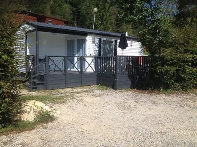 Photo for 2BR Mobile Home Vacation Rental in morbier, Grand Est