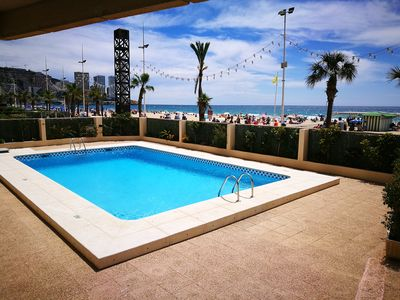 Photo for First line Playa de Levante apartment for 4 people