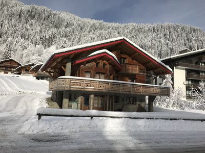 Photo for Luxury chalet at the foot of the Linga slopes