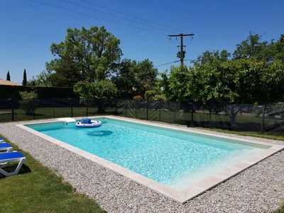 Photo for RECENT VILLA WITH POOL IN A QUIET COUNTRYSIDE CLOSE VENTOUX AND LUBERON