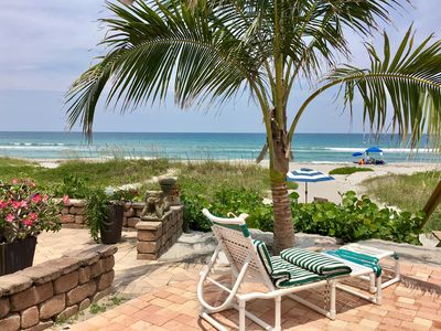 """Photo for New!! """"LICENSED""""... Access to the beach from your private  patio!"""