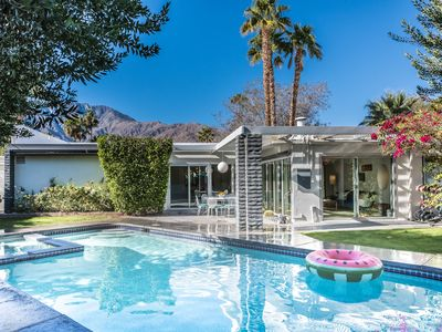 Photo for The Elrod | Mid Century Mountain View Pool & Spa Home