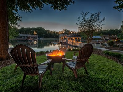 Photo for Dock Paradise - 2 story dock - great for entertaining! 6 bedroom home, sleeps 12!