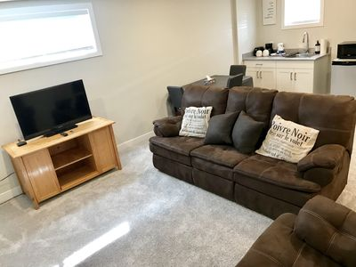 Photo for Brand New 1 Bedroom Sweet Basement Suite