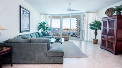 Photo for Casual Poolside Condo with Wonderful View of Perdido Bay