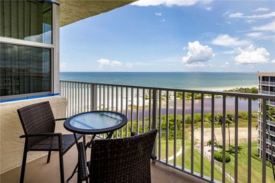 Incredible View - Take in an incredible view while out on Estero Beach & Tennis 907A's balcony.