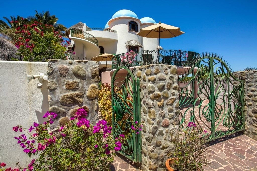 VILLA HAFIZ at VILLA POEMA - Charming Studio with Kitchenette and Patio with Stunning Bay Views