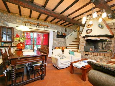 Photo for Vacation home Il Casale in Monticiano - 5 persons, 3 bedrooms