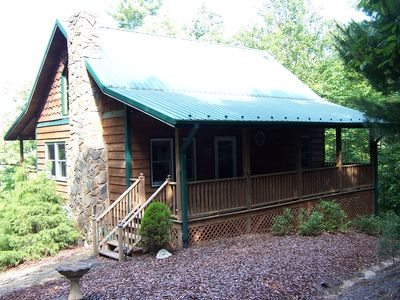 Photo for Welcome to the Cozy Moose Cabin- a Romantic Getaway in the High Country! No Pets