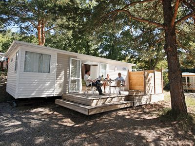 Photo for Camping Chanteraine *** - mobile home 6 people - 6 places, (0-5) (between 0 and 5 years)