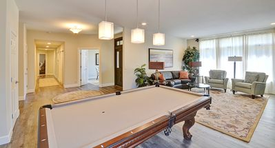 Front Living Room and Pool Table