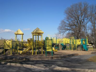 There are several playgrounds close to house for the kids.