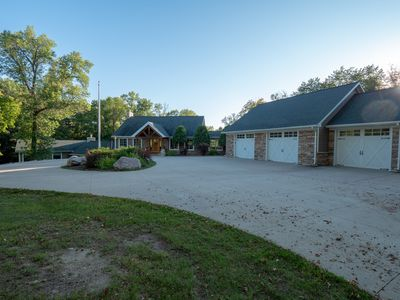 Photo for Private Vacation Lake Home On 47 Acres Of Breathtaking Woods In MN Lake Country
