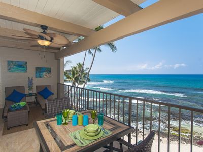 Photo for Beautiful Oceanfront Kona Bali Kai 3rd Floor Condo