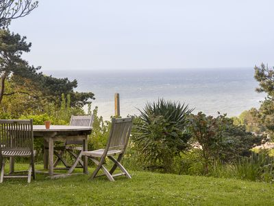Photo for Splendid Sea View, Charming Norman Cottage between Etretat and Veules les Roses