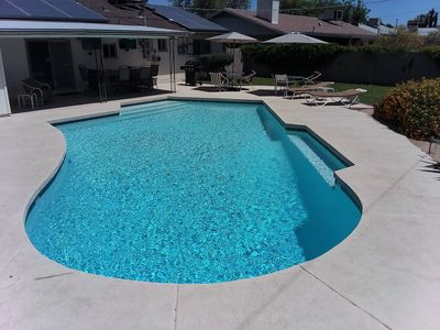 Large Pool, Heated in the Winter