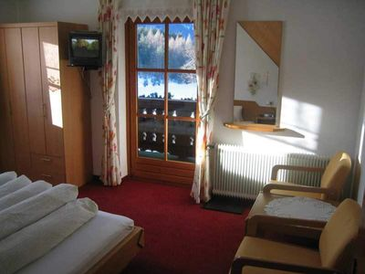Photo for Double Eagle's Nest with balcony, shower / WC - Gästehaus Fitsch