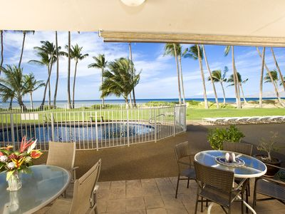 Photo for Oceanfront- 2 Bed 2 Bath Condo in Central Kihe-#106i