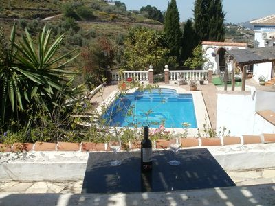 Photo for Stunning villa with pool within10 mins walk of a beautiful Spanish villag