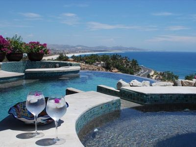 Photo for 7 Th Night Free, 4 BR/ 5 BA Villa in Gated Querencia Sea View  lots of parking