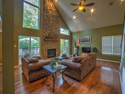 Photo for Lakefront Blue Eye Cottage w/ Hot Tub & Fire Pit!