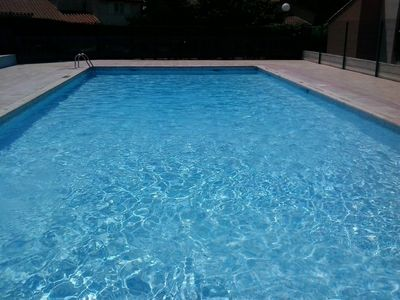 Photo for Canet beach, nice T2 (1 bedroom) for 4 people, terrace, swimming pools and parking