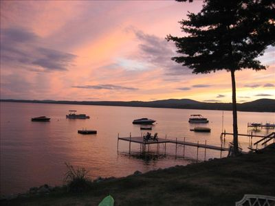 Photo for Private Home on Thompson Point Sebago Lake with Private Beach