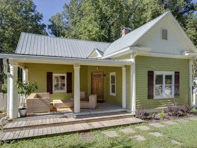 Photo for The Lime House: Modern Downtown Retreat w/ 2 Kitchens & Large Fenced Yard