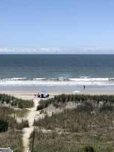 Photo for Beautiful Condo with an Ocean View and minutes from Barefoot landing!!