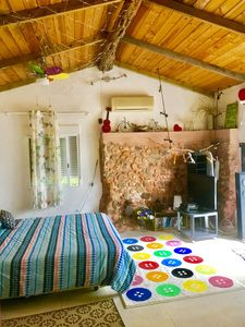 Photo for little cozy house with big pool free  WIFI just 5 min drive from the sea