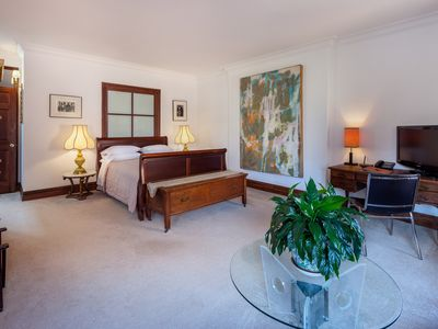 Photo for Large Luxurious Studio Suite 10 minutes from Times Sq and Central Park
