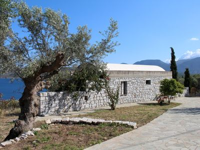 Photo for Great located, extravagant holiday house above the sea | Lakonia, Peloponnese