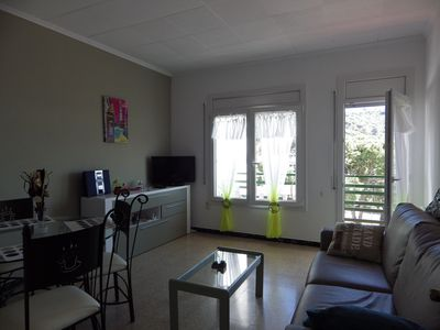 Photo for Apartment close to beaches with communal pool and parking